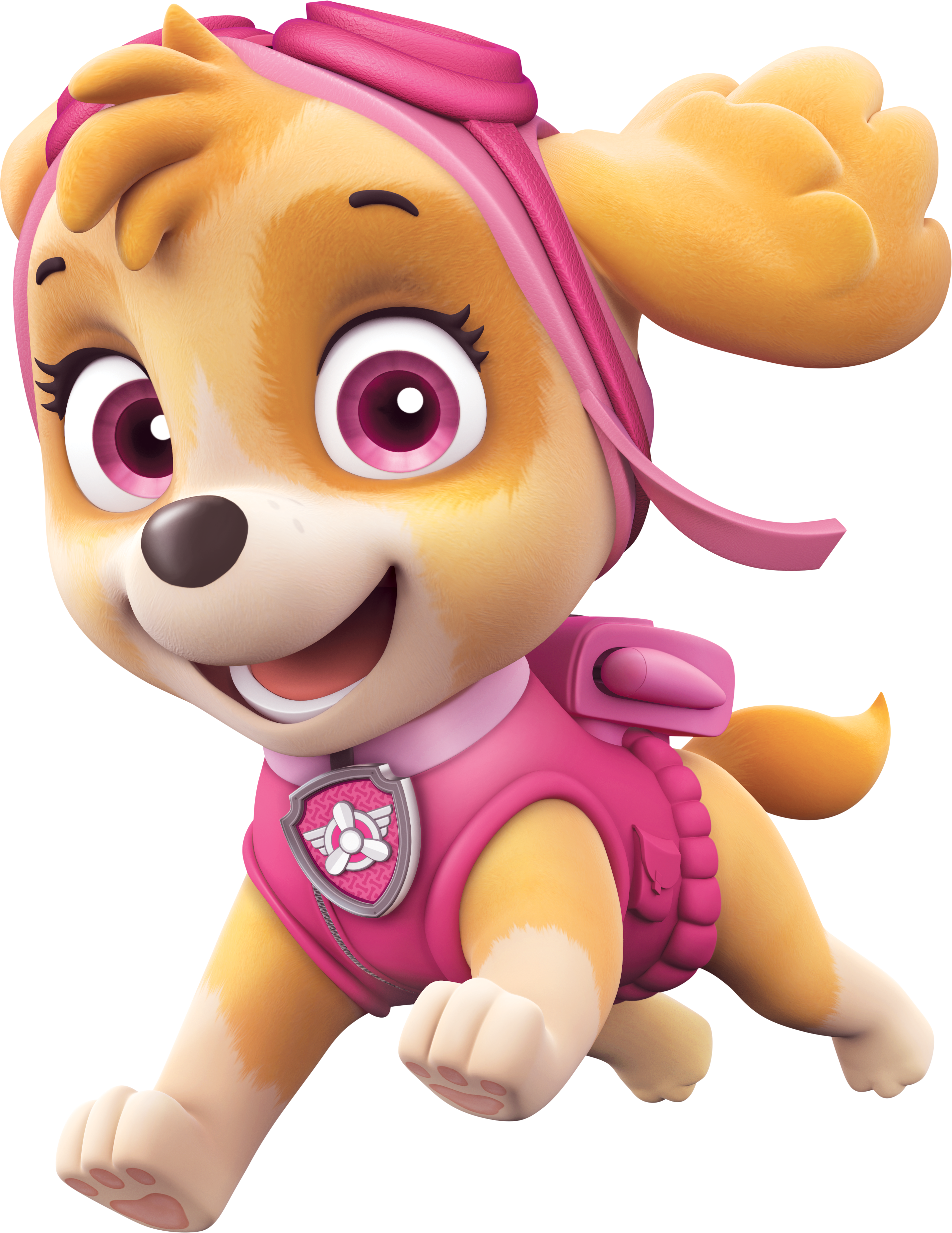 Stickers Wall Art Paw Patrol Skype 20cm Doll Pink Dog