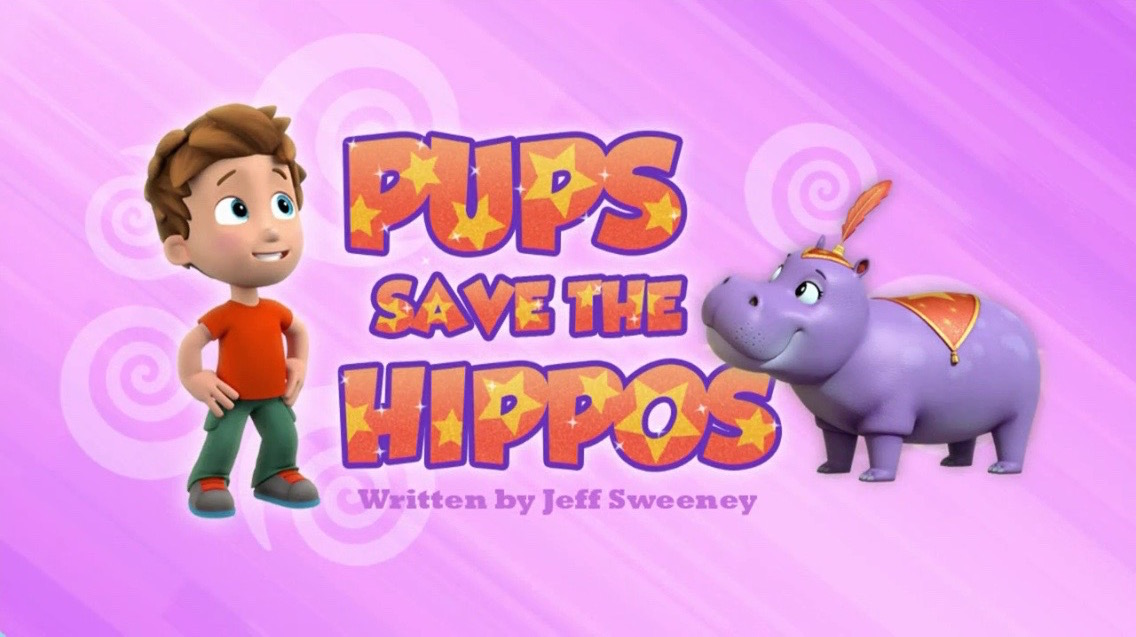 Pups Save The Hippos Paw Patrol Wiki Fandom Powered By