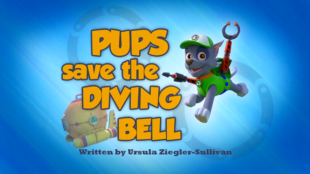 Pups Save The Diving Bell Paw Patrol Wiki Fandom