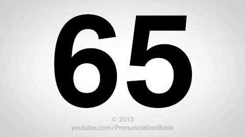 How to Pronounce 65