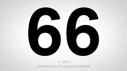 How to Pronounce 66