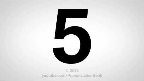 How to Pronounce 5