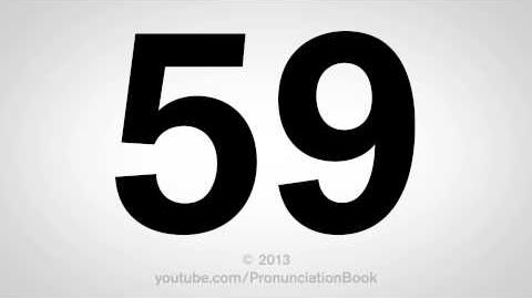 How to Pronounce 59