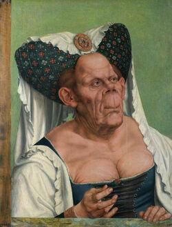 Quentin Matsys - A Grotesque old woman