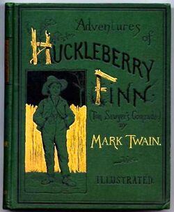 Huckleberry Finn book