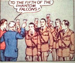 Phantom falcons