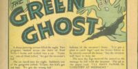 Green Ghost (Text)