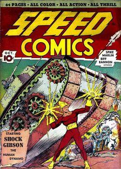 Speed Comics -1