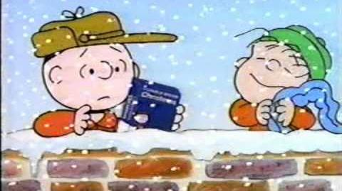 Shell Gas Station Christmas Commercial (1991) - ft Peanuts VHS Charlie Brown, Linus, Snoopy