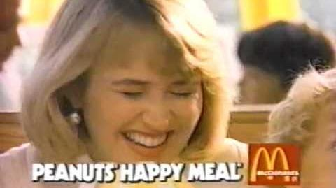 Peanuts Happy Meal commercial 4-15-90