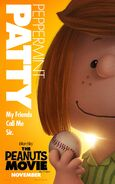The Peanuts Movie Peppermint Patty poster