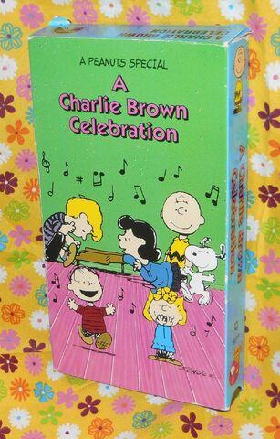 File:A Charlie Brown Celebration VHS.jpg