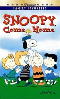 Snoopy Come Home VHS