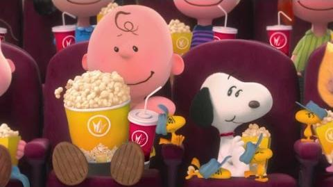 The Peanuts Movie- Regal Crown Club Commercial