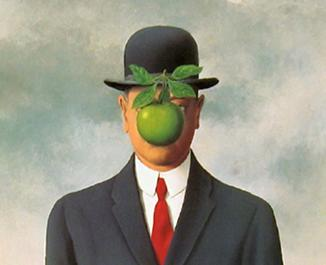 Rene Magritte The Son Of Man Image - Rene Magritte,...
