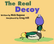 The reall decoy image