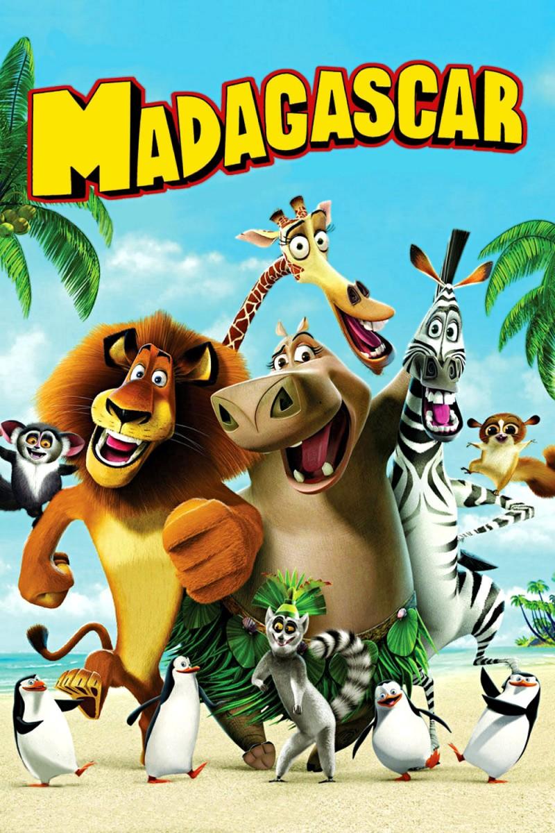Image - Madagascar-movie-poster.jpg | Madagascar Wiki | Fandom ...