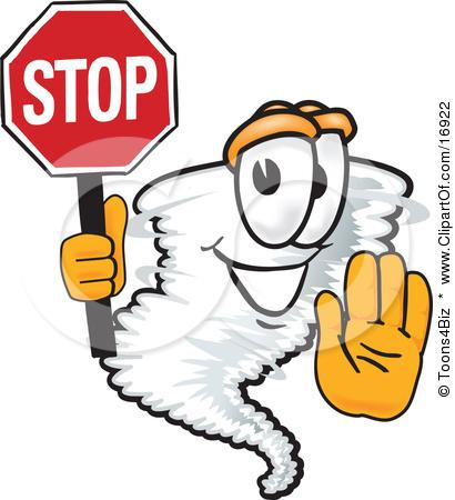 File:16922-Clipart-Picture-Of-A-Tornado-Mascot-Cartoon-Character-Holding-A-Stop-Sign.JPG