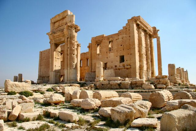 File:Temple of Bel in Palmyra.JPG