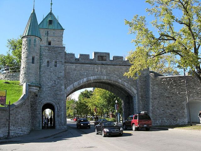 File:Quebec City Wall.jpg