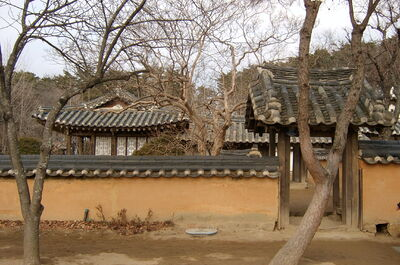 Korea-Gangneung-House of Heo family-01