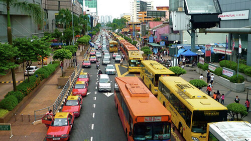 Traffic in Medan