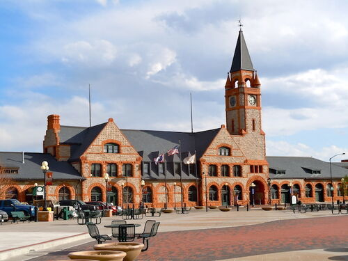 Cheyenne Train Depot
