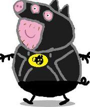 Batty pig