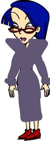 Kira in her purple dress