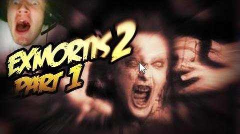 Funny, Horror Exmortis 2 - WORST JUMPSCARE EVER;; - Part 1