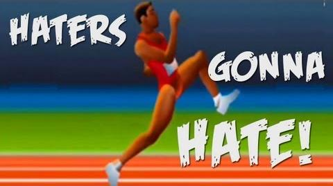 HATERS GONNA HATE - QWOP (flash game)