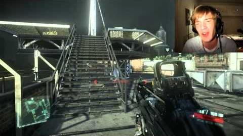 Crysis 2 Video Commentary Vlog - Partnership? Livestream? BlackPlague? )