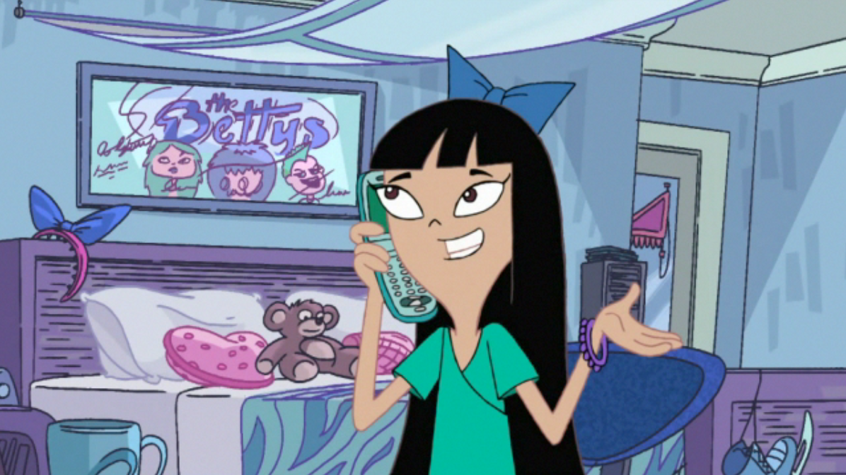 stacy hirano phineas and ferb wiki fandom powered by wikia