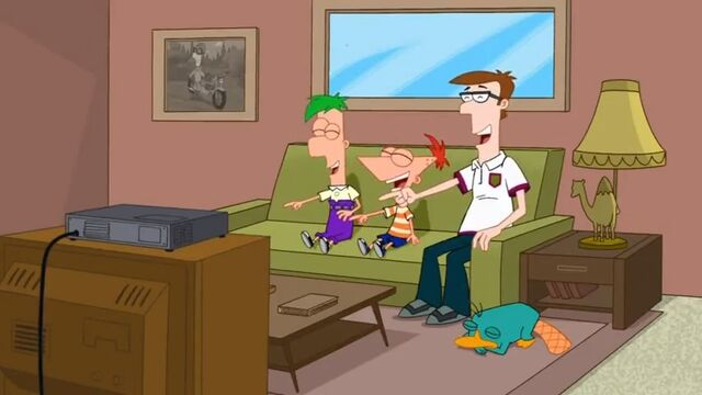 File:Ferb, Phineas and Lawrence laughing.jpg