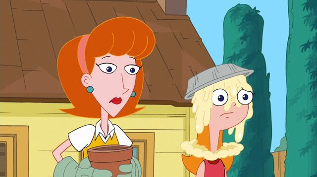 File:Linda and a pie covered Candace.jpg