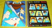 Phineas and Ferb 2012 notebooks 2