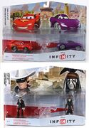 Disney Infinity Cars and Lone Ranger Play Sets