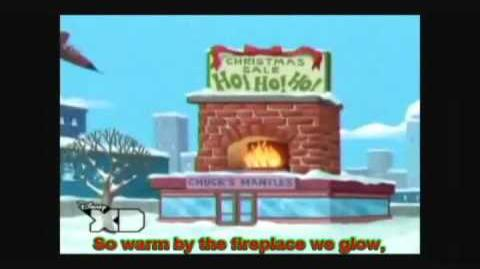"""Phineas & Ferb Song Demo """"That Christmas Feeling Song"""""""
