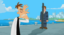 Hide and Seek Norm Doofenshmirtz