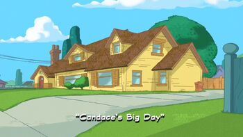 Candace's Big Day title card