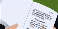 Doofenshmirtz's script