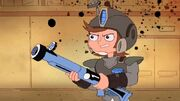 Django prepared for war