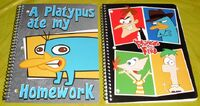 Phineas and Ferb 2012 notebooks 4