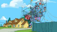 Extreme batting cage
