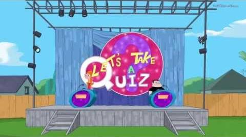 Phineas and Ferb - Let's Take a Quiz (Song)
