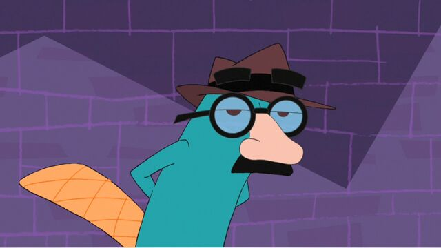 File:Agent P wearing Groucho glasses.jpg