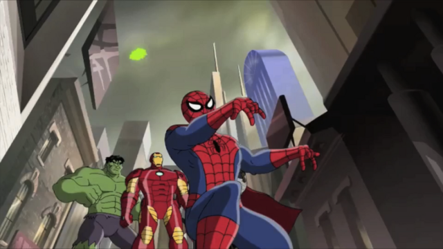 File:Marvel - Hulk, Iron Man and Spidey.png