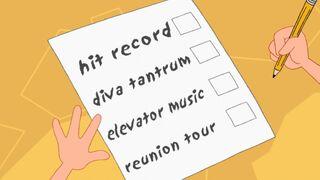 One hit wonder checklist