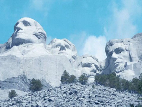 File:Pre-construction Mount Rushmore SD.jpg