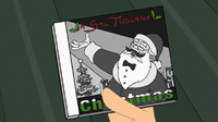 Sal Tuscany is Santa Claus